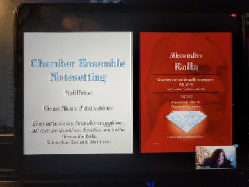 Gems Music Publications wins another Paul Revere award!