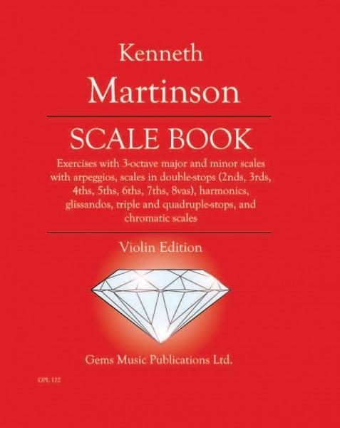 Scale Book, Violin Edition