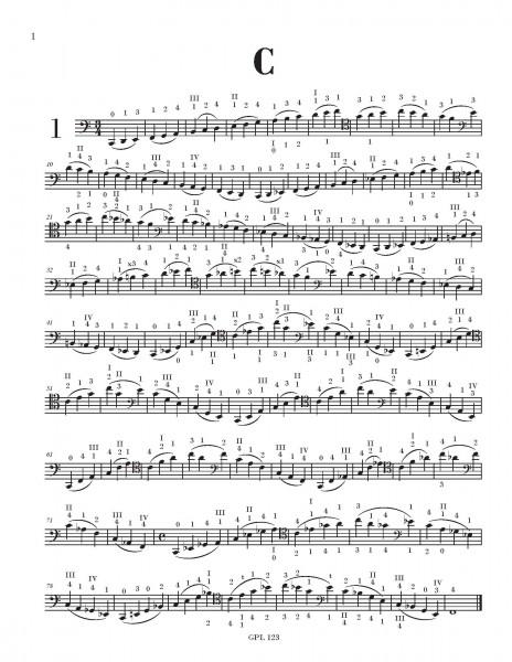 Scale Book, Cello Edition