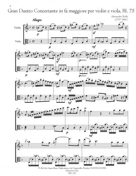 78 Violin-Viola Duets, BI. 33-110 Volume 12 (BI. 75-78)