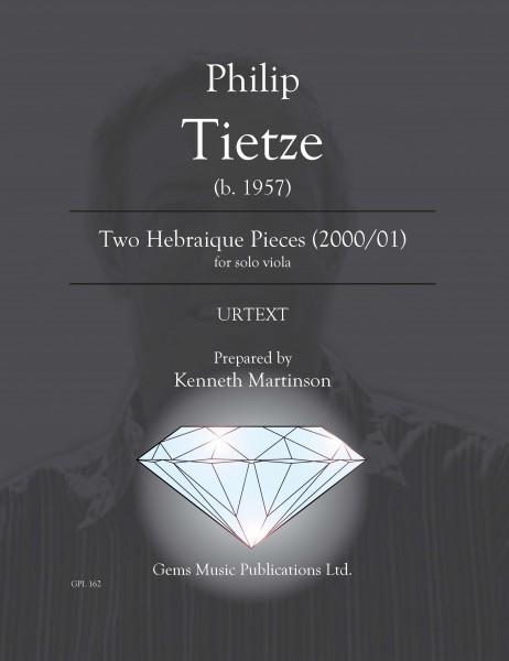 Two Hebraique Pieces (2000/01) for solo viola