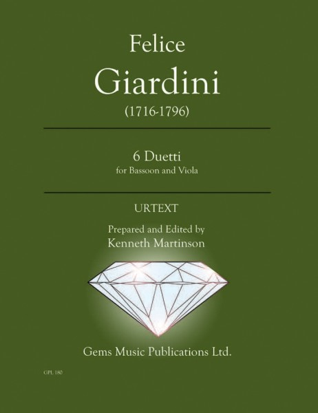 6 Duetti for Bassoon and Viola