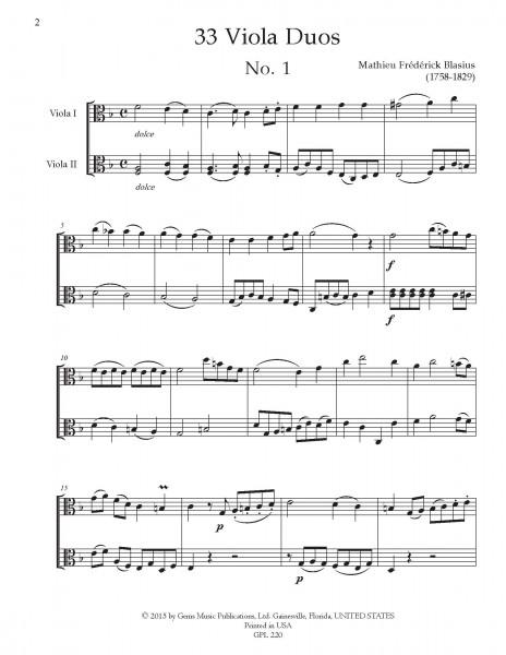 33 Viola Duos