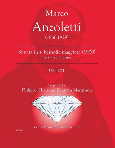 Sonata per viola e piano in si bemolle maggiore (1900)