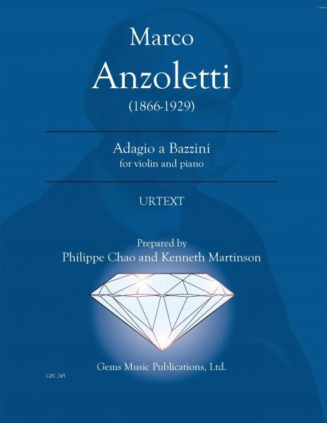Adagio a Bazzini for violin and piano