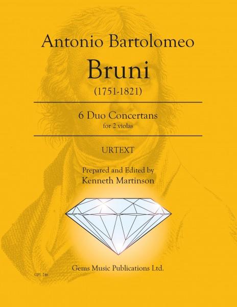 6 Duo Concertans for 2 violas