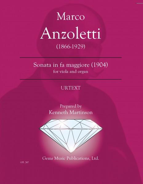 Sonata per Viola e Organo in fa maggiore (1904) (for viola and organ)