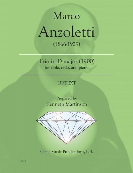 Trio in D major (1900) for viola, cello, and piano