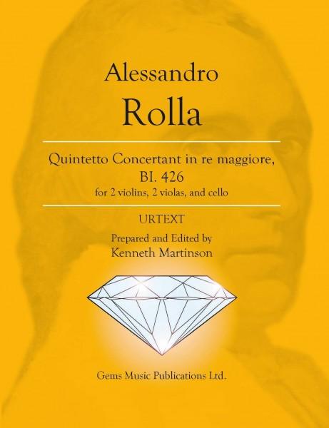 Quintetto Concertant in re maggiore, BI. 426 (for 2 violins, 2 violas, and cello)