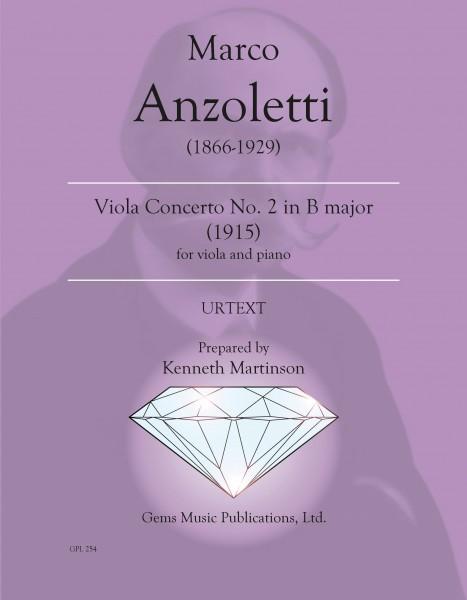 Viola Concerto No. 2 in B major (1915) (viola/piano reduction)