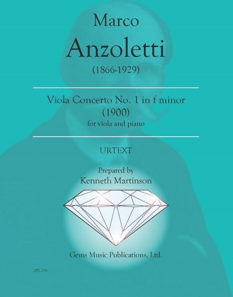 Viola Concerto No. 1 in F minor (1900) (viola/piano reduction)