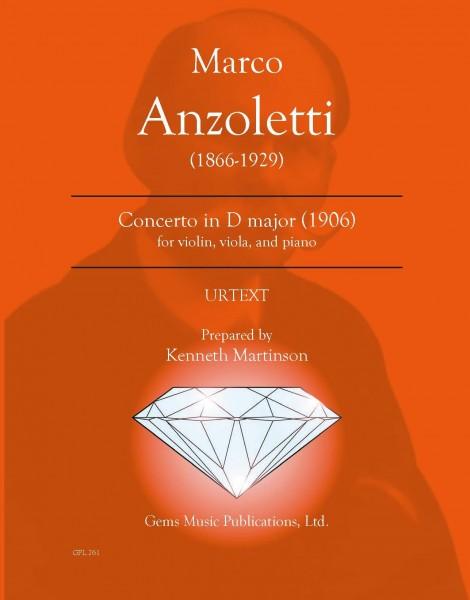 Concerto in D major for Violin, Viola, and Orchestra (1906) (violin-viola/piano reduction)