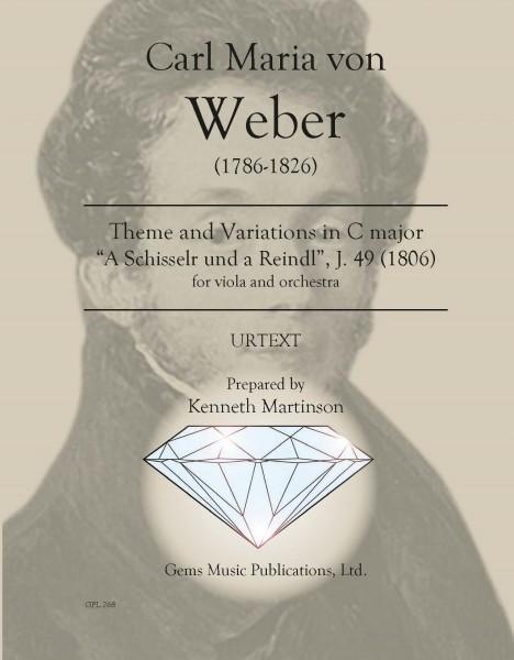 """Thema und 6 Variationen in C major, J. 49 (1806) (score/parts) \""""A Schisserl und a Reindl\"""""""