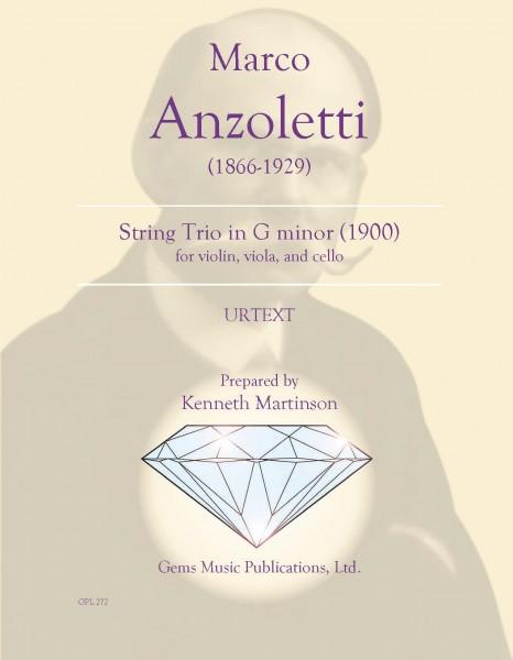 String Trio in G minor (1900) (for violin, viola, and cello)