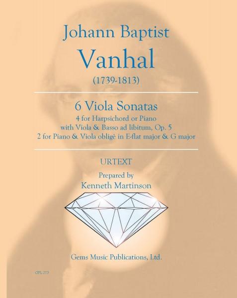 6 Viola Sonatas