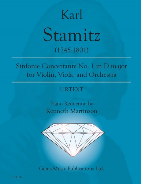 Sinfonia Concertante No. 1 in D major for violin, viola, and orchestra (piano reduction)